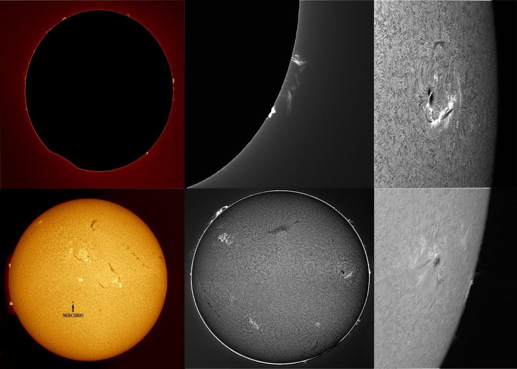 Protuberancias i Cromosfera